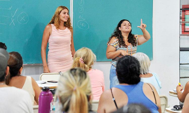 Continúa el curso intensivo de Lengua de Señas Argentina en Tigre