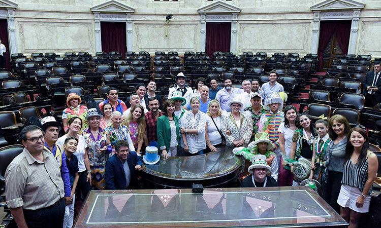 El trabajo de San Fernando y sus murgas se reconoció en la Cámara de Diputados nacional