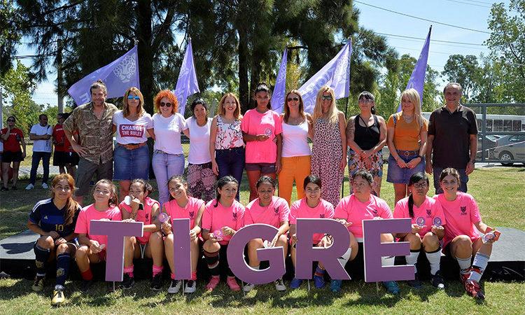 Mes de la Mujer en Tigre: el deporte y la cultura se unieron para homenajear a vecinas de la ciudad