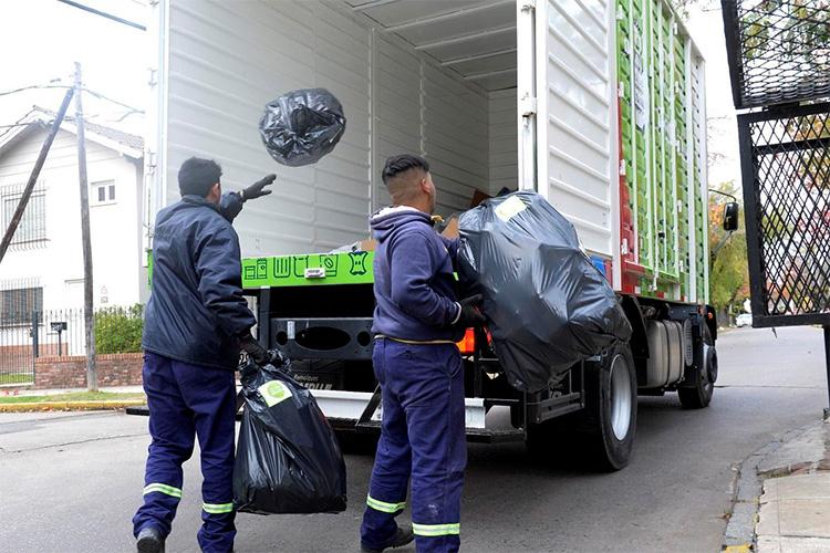 Cómo funcionará el servicio de recolección de residuos durante el fin de semana largo