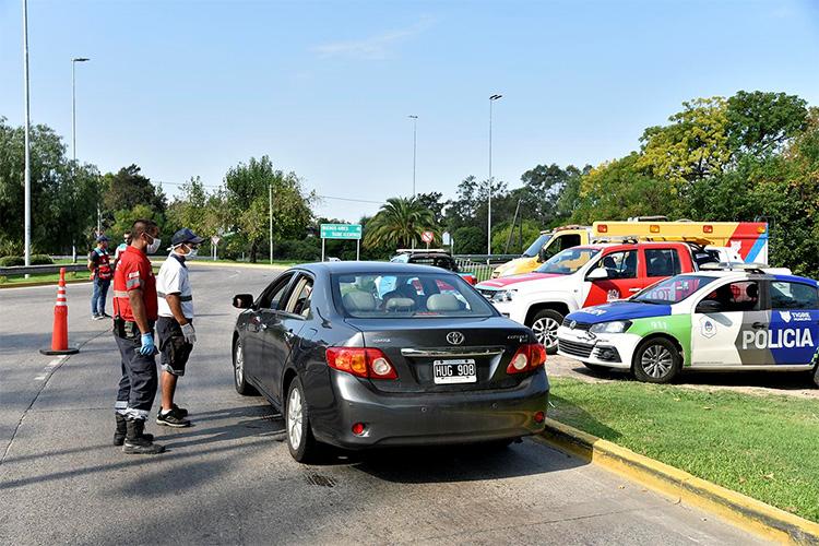 Operativos en Tigre por coronavirus: el Municipio continúa sus controles en el ingreso a la ciudad