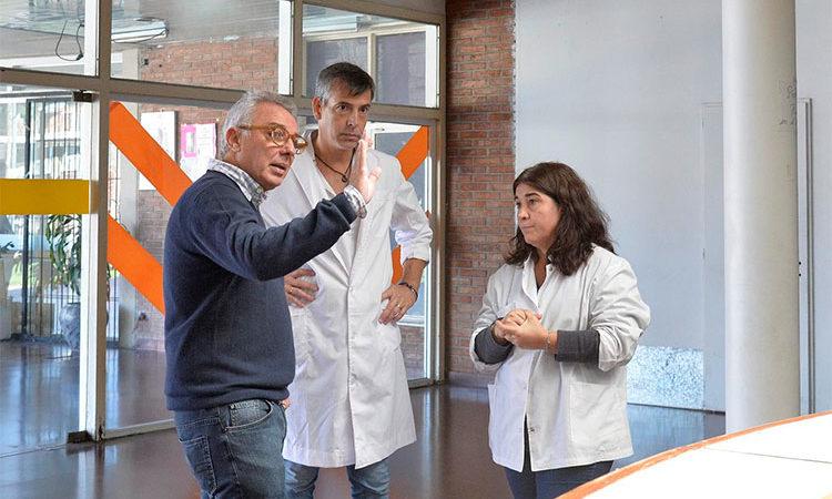 """Julio Zamora: """"La comunidad de Tigre va a hacer un esfuerzo para mejorar el Hospital de Pacheco y dignificar a sus trabajadores"""""""