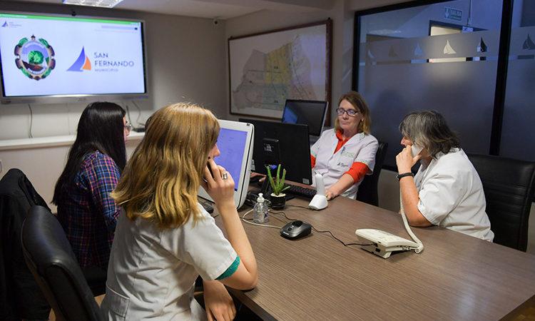 San Fernando incorpora la línea telefónica local 103 para consultas exclusivas sobre coronavirus