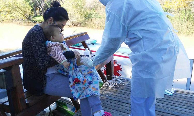 En las Islas, San Fernando emprende su operativo de salud N°20 en plena cuarentena