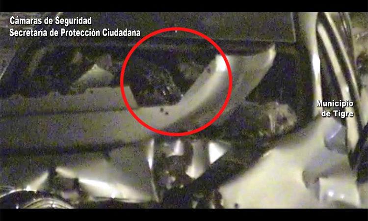 Detuvieron a un abrecoches infraganti gracias a las cámaras del COT