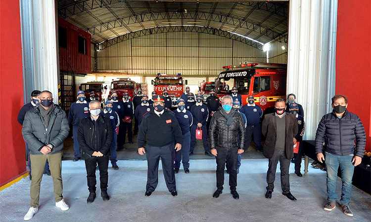 """Julio Zamora: """"Es un día para poner en valor el trabajo que realizan los bomberos al servicio de la comunidad de Tigre"""""""