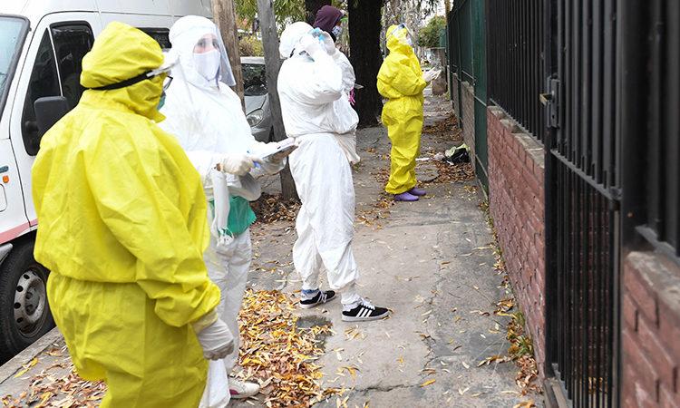 San Fernando ya controló a 14 mil personas y continúan los operativos de detección de coronavirus