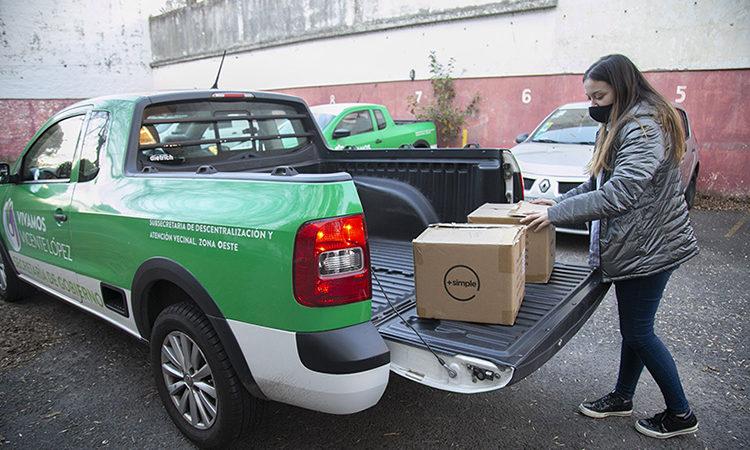 Vicente López ya entregó 500 tablets a adultos mayores del municipio
