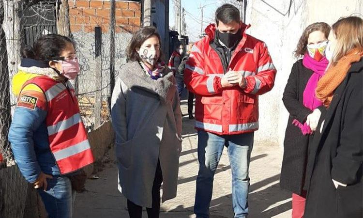COVID-19: Tigre y Provincia realizaron un operativo de detección de anticuerpos a familias del barrio San Jorge