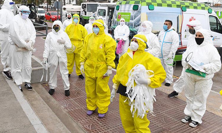 Continúan en San Fernando sin pausa los operativos de detección de coronavirus en barrios