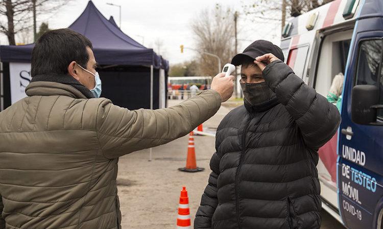 Lucha contra el coronavirus: Un puesto móvil recorrerá las localidades de San Isidro