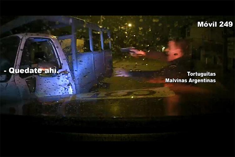 De película: robo y dramática doble persecución terminó con dos detenidos