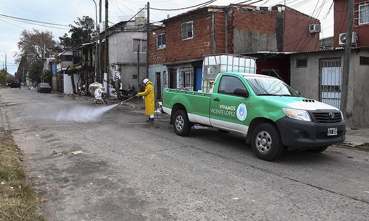 Operativo de vacunación antigripal y prevención en Barrio La Loma