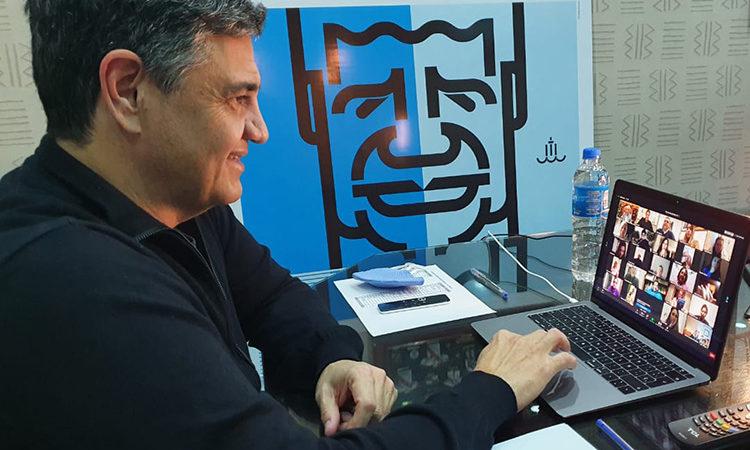 Charla abierta Entre Jorge Macri y el Dr. Alberto Cormillot vía Zoom