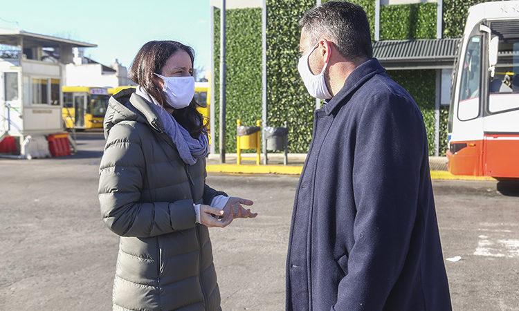 Vicente Lópezintensifica lahigienización urbana en los lugares con mayor concurrencia