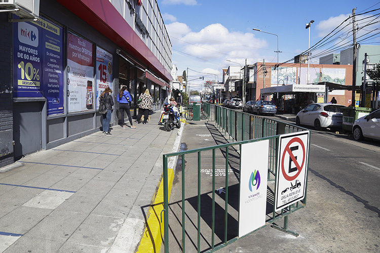 Vicente López amplió el espacio de circulación peatonal en Carapachay