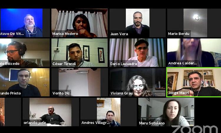 """Jorge Macri participó del seminario """"Liderazgo y comunicación en tiempos de pandemia"""""""
