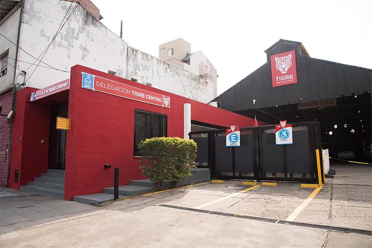 El Municipio abrió las nuevas oficinas de la Delegación Tigre centro