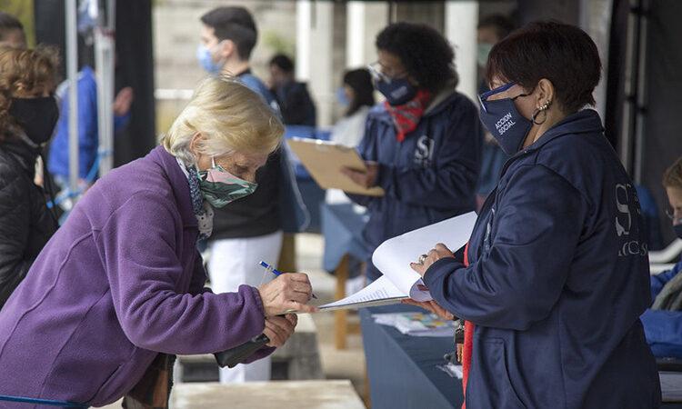 45 mil vecinos relevados en busca de casos sospechosos de coronavirus