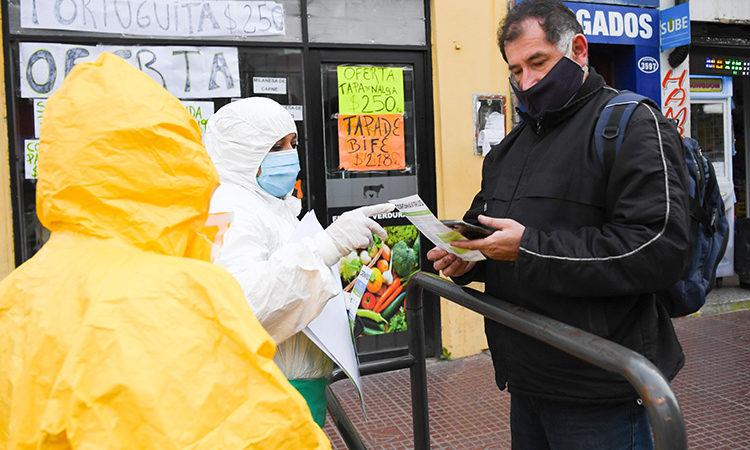 San Fernando trabaja de forma integral contra el coronavirus en centros comerciales y barrios