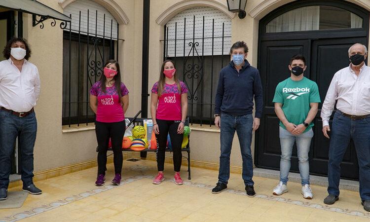 Posse recibió a participantes de los Juegos Virtuales San isidro 2020
