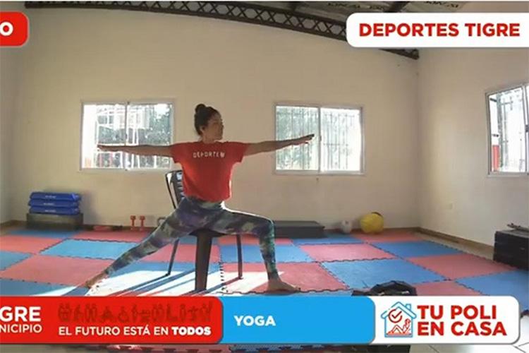 """Llega """"Tu Poli en Casa"""", el programa virtual que acerca múltiples actividades deportivas a vecinos y vecinas de Tigre"""