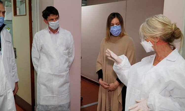San Isidro participa de una investigación para disminuir el contagio de Covid-19 del personal de salud