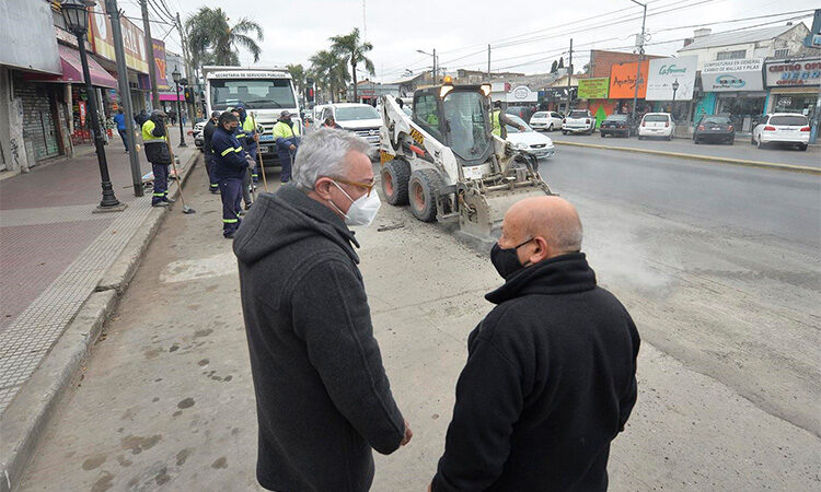 Tigre avanza con obras integrales en General Pacheco y Benavídez