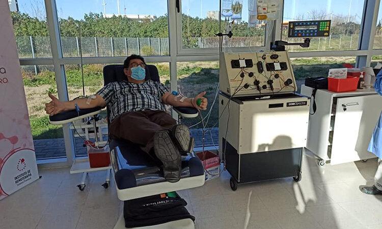 El Dr. Augusto Briceño, concejal de San Fernando, fue dado de alta por Coronavirus y donó plasma