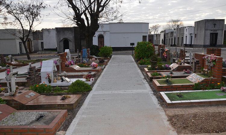 Habilitan visitas a cementerios en San Isidro