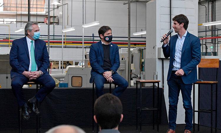 """Juan Andreotti y Alberto Fernández anunciaron en San Fernando el lanzamiento del programa """"Precios Cuidados para la Construcción"""""""
