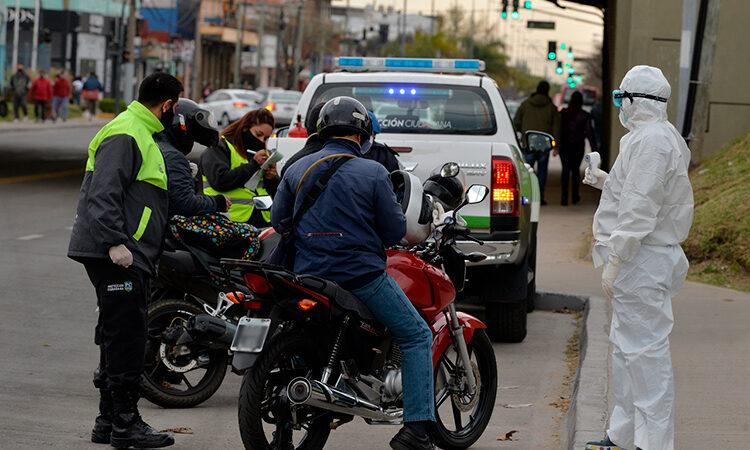 San Fernando realizó nuevos controles de tránsito en los principales accesos a la ciudad