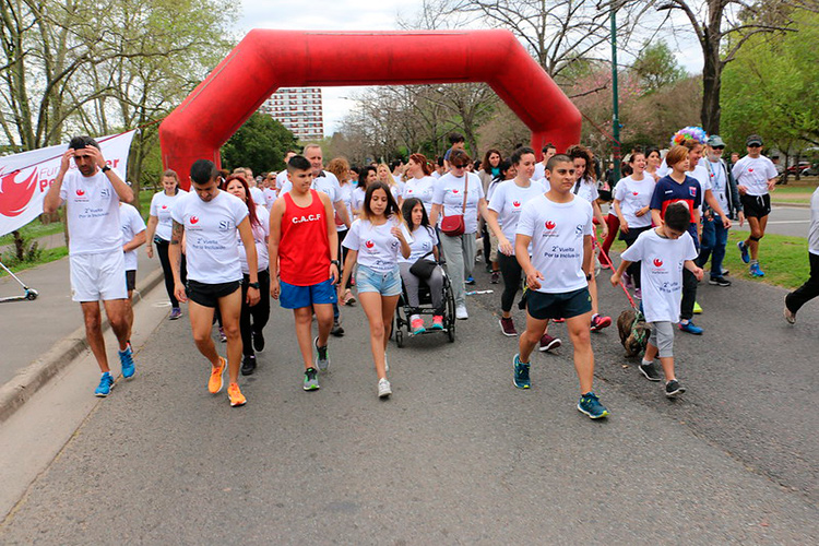 San Isidro realiza una carrera virtual para generar conciencia sobre la discapacidad