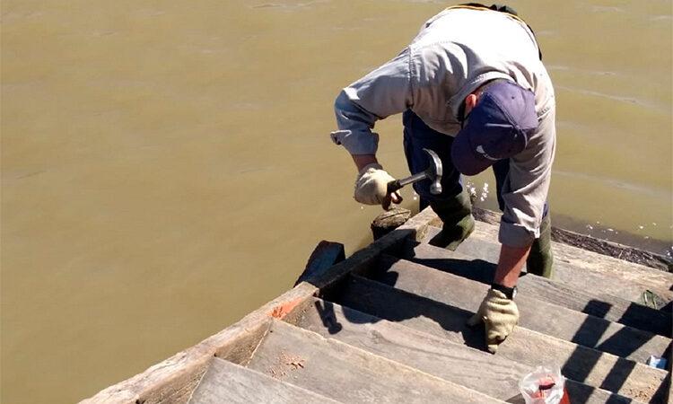 El Municipio continúa con tareas de mantenimiento integral en el Delta