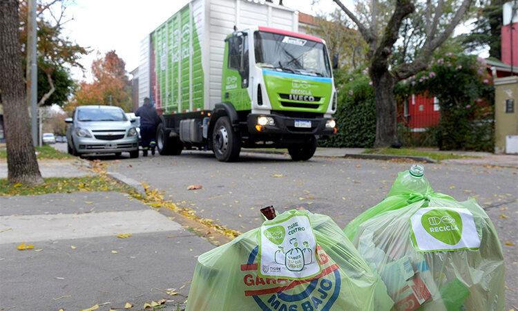 Tigre superó el millón de kilos de materiales reciclables recolectados