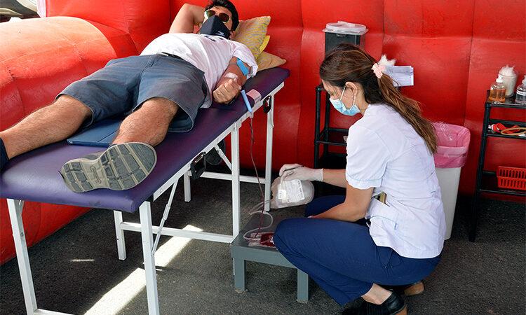 El Municipio continúa apoyando campañas de donación de sangre y cabello en Nordelta