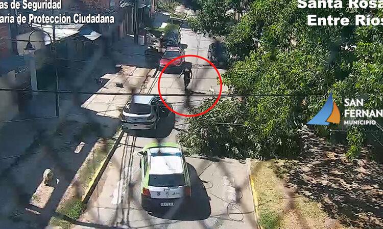 Protección Ciudadana de San Fernando persiguió y detuvo a los autores de una entradera