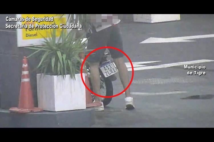 Hacía delivery con una moto robada pero fue identificado y detenido gracias al sistema BUS.CA.DO.R