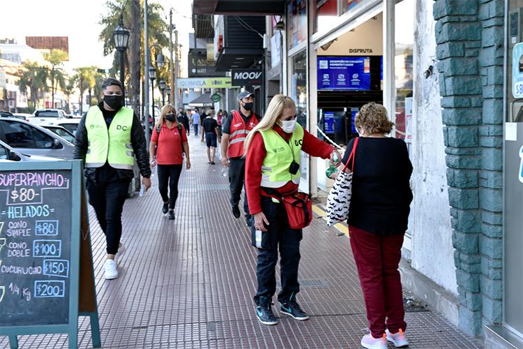 COVID-19: el Municipio refuerza los operativos de prevención y concientización en puntos estratégicos de Tigre
