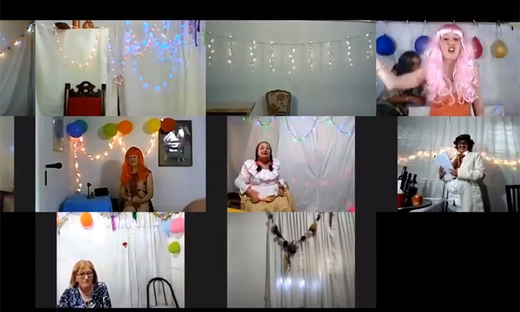 Comenzaron los talleres virtuales del Programa de Arte Inclusivo del Municipio