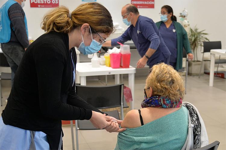El Municipio de Tigre llegó a las 100 mil aplicaciones de vacunas contra el COVID-19