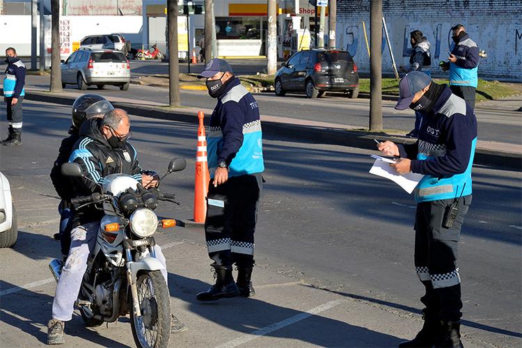 El Municipio de Tigre adhirió a la octava edición de Alcoholemia Federal con un control vehicular en El Talar