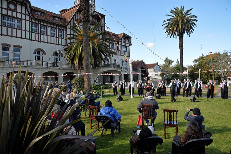 El Municipio de Tigre, presente en el 145° aniversario del Club Regatas La Marina