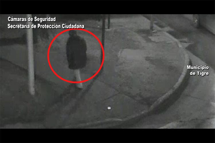 Armado con un cuchillo, intentó robar en una vivienda y las cámaras lo captaron: fue detenido por el COT