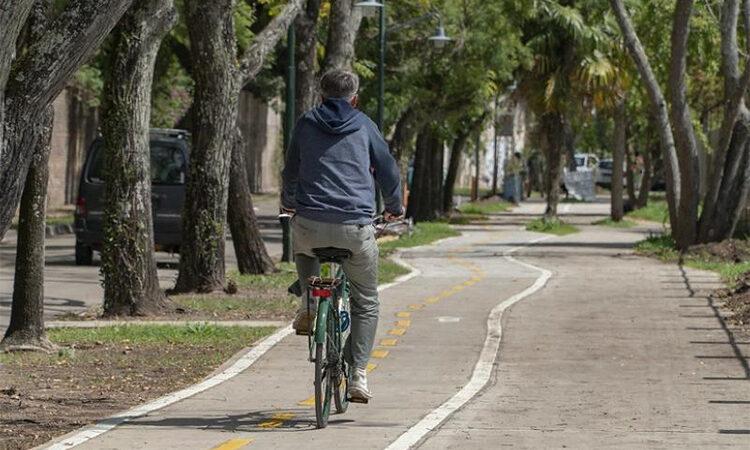 Extienden la senda aeróbica en las calles del Bajo de San Isidro