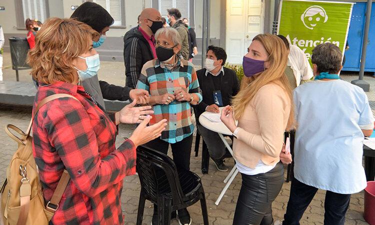 Se realizó una nueva jornada de vacunación contra el COVID-19 en Victoria