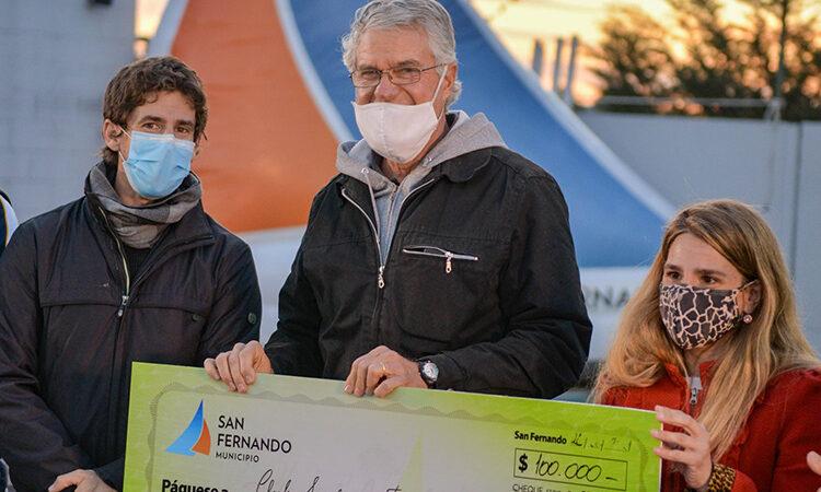 Juan Andreotti celebró el Día del Fomentista otorgando un subsidio a instituciones sanfernandinas