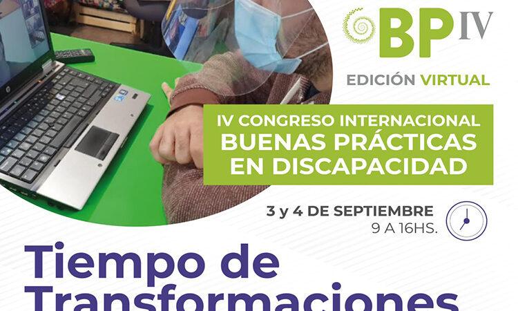 IV Congreso Internacional de Buenas Prácticas en Discapacidad de Vicente López