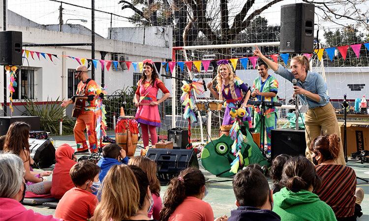 Durante las vacaciones de invierno cientos de niños y niñas de Tigre disfrutaron de espectáculos culturales