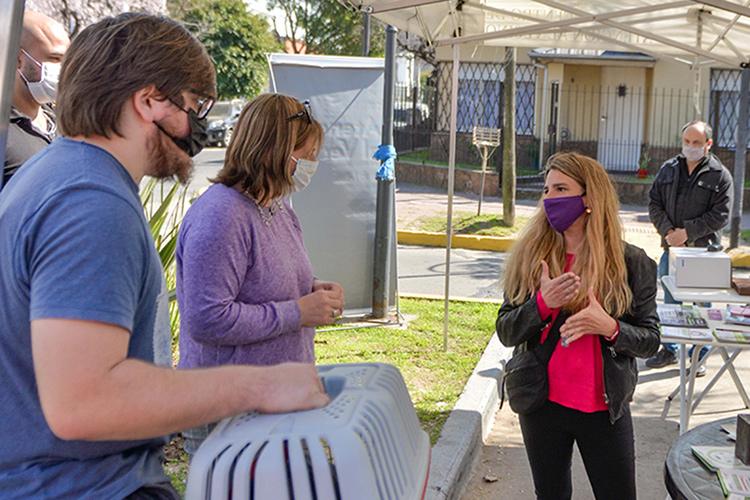 """San Fernando realizó un nuevo operativo """"El Municipio en tu Barrio"""" para acercar servicios a los vecinos"""